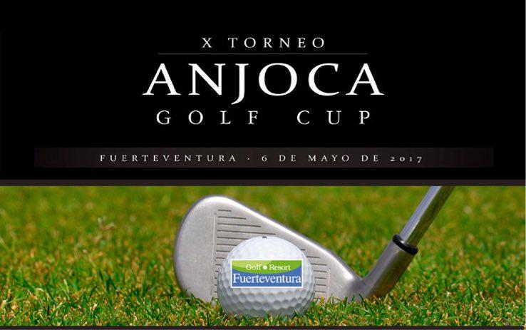 Fuerteventura acogerá en mayo el  X Torneo ANJOCA Golf Cup