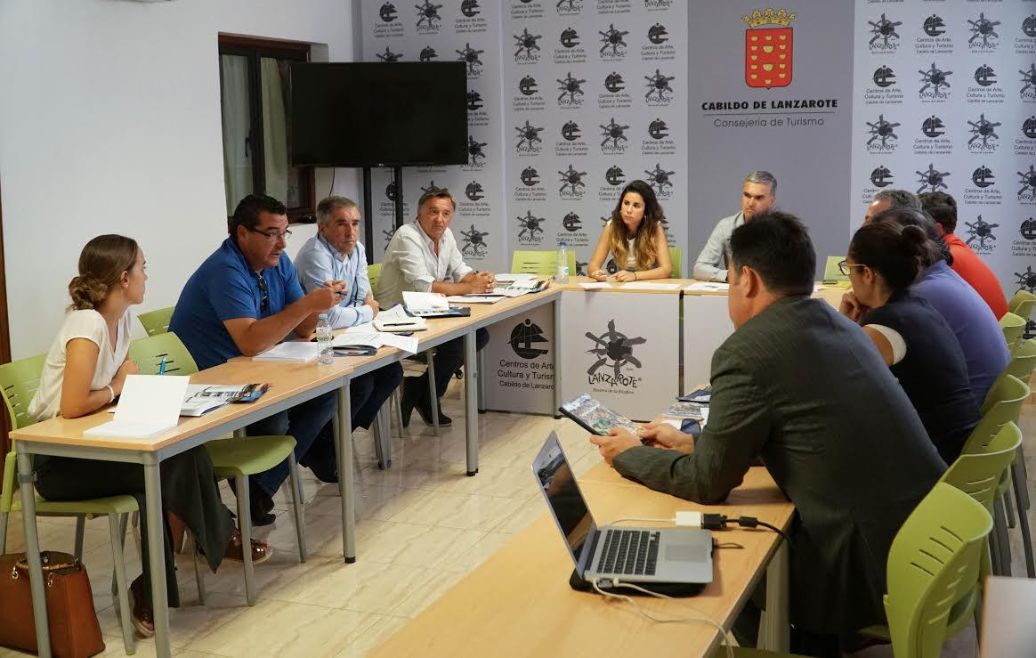 Turismo Lanzarote promociona la isla como destino de golf en el torneo europeo BMW International Open 2017