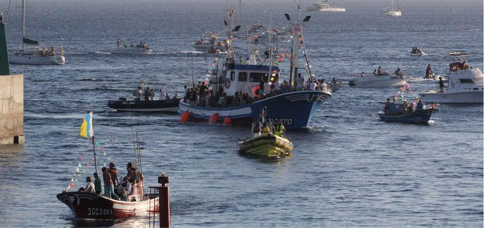 Abierto el plazo hasta el 6 de agosto para participar en la procesión marítima de Puerto del Carmen