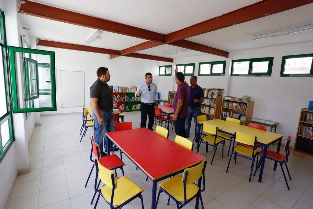Más de 3.000 alumnos se incorporan el lunes a la red de centros escolares del Teguise