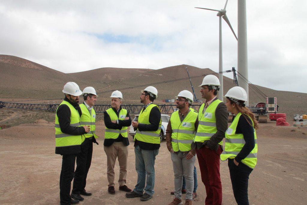 El Parque Eólico Teguise I, que generará 1,5 millones de euros al año, comienza a producir en abril de 2018