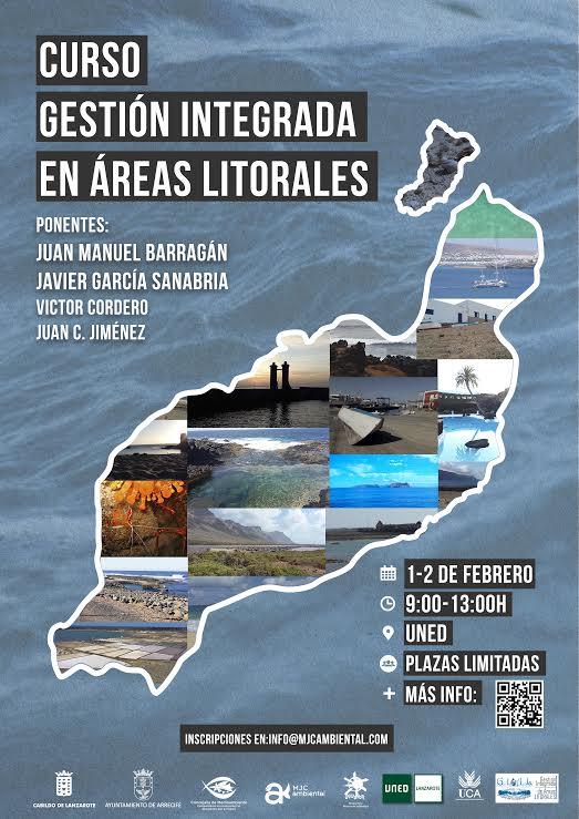 La Oficina de la Reserva de la Biosfera del Cabildo de Lanzarote coorganiza un curso de 'Gestión Integrada de Áreas Litorales'
