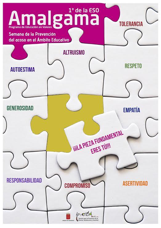 El Cabildo de Lanzarote reedita el programa de educación en valores 'AMALGAMA', dirigido al alumnado de 1º de la ESO