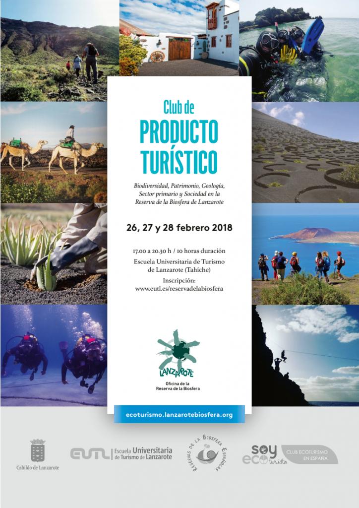 El Cabildo impartirá un nuevo curso de formación para empresas que quieran adherirse al Club de Producto Turístico Reserva de la Biosfera de Lanzarote