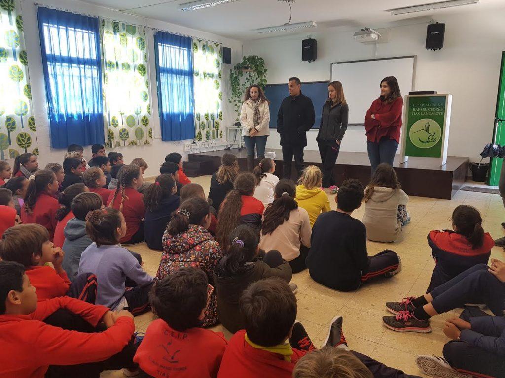 El Colegio de Tías galardonado como Centro Embajador de Save the Children