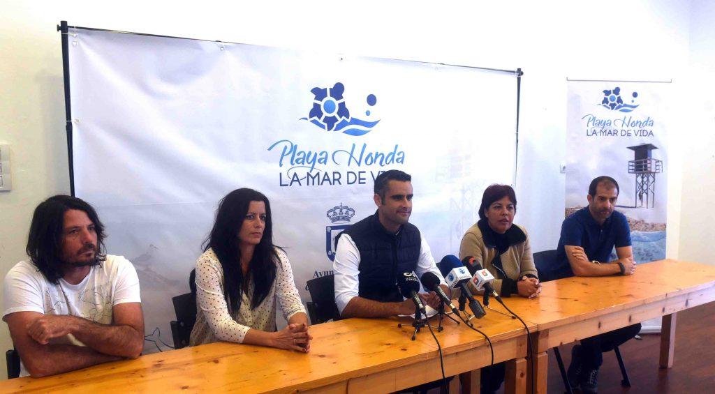 """El Ayuntamiento de San Bartolomé en colaboración con los colegios del municipio pone en marcha el proyecto """"Playa Honda la mar de vida"""""""