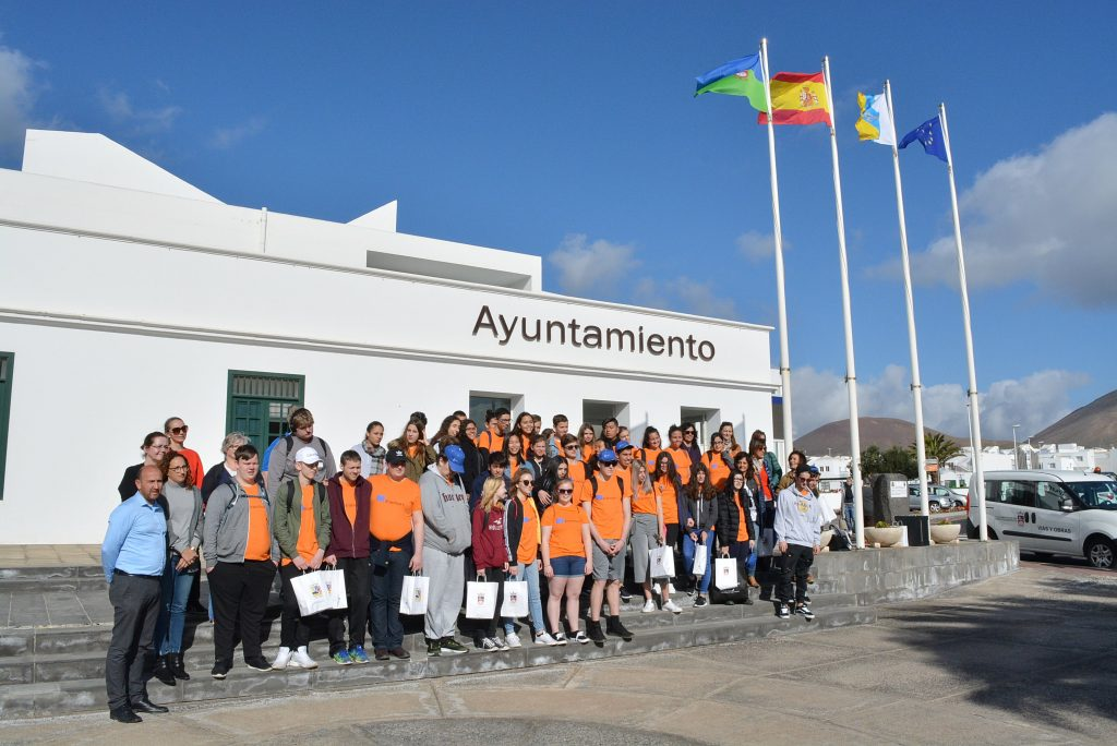 Veinticuatro familias de Tías convivirán con alumnos de Erasmus de Italia e Islandia