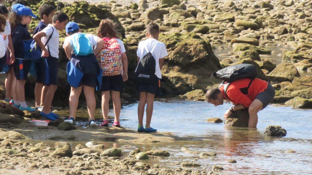 Los escolares del CEIP Capellanía del Yágabo descubren la ornitología y la marina de Arrecife