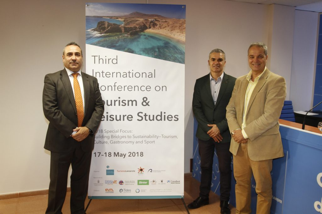 El Third International Conference on Tourism & Leisure Studies  aglutinará en Lanzarote a numerosos expertos en investigación turística de renombre mundial