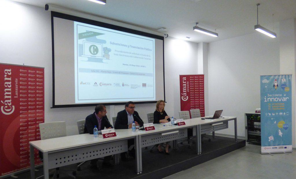 Economía expone las líneas de financiación para los emprendedores y pymes de Lanzarote