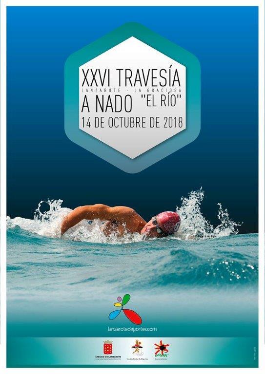 Mañana martes se abre el plazo de inscripción en la 'XXVI Travesía a Nado El Río', que se  celebrará el domingo 14 de octubre