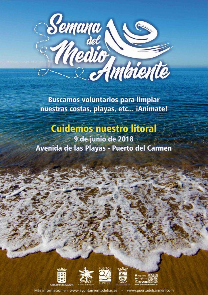 Tías enseña a los escolares a conocer el valor medioambiental del litoral de Lanzarote