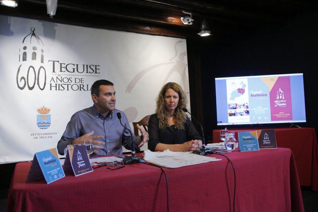 Teguise estrena imagen para su Conjunto Histórico y web del Mercadillo más antiguo de Canarias