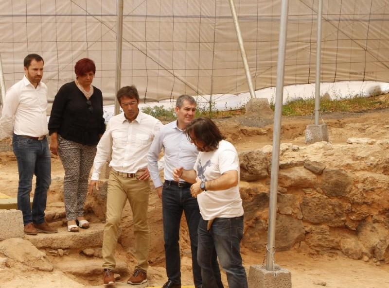 El Cabildo de Lanzarote retoma las campañas de investigación y excavaciones arqueológicas en los yacimientos de Zonzamas y Fiquinineo
