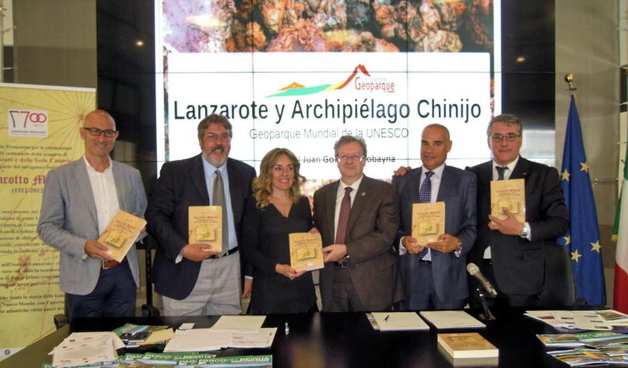 Beigua y Lanzarote y el Archipiélago Chinijo estrechan lazos de colaboración mediante el hermanamiento de los geoparques de ambas localidades
