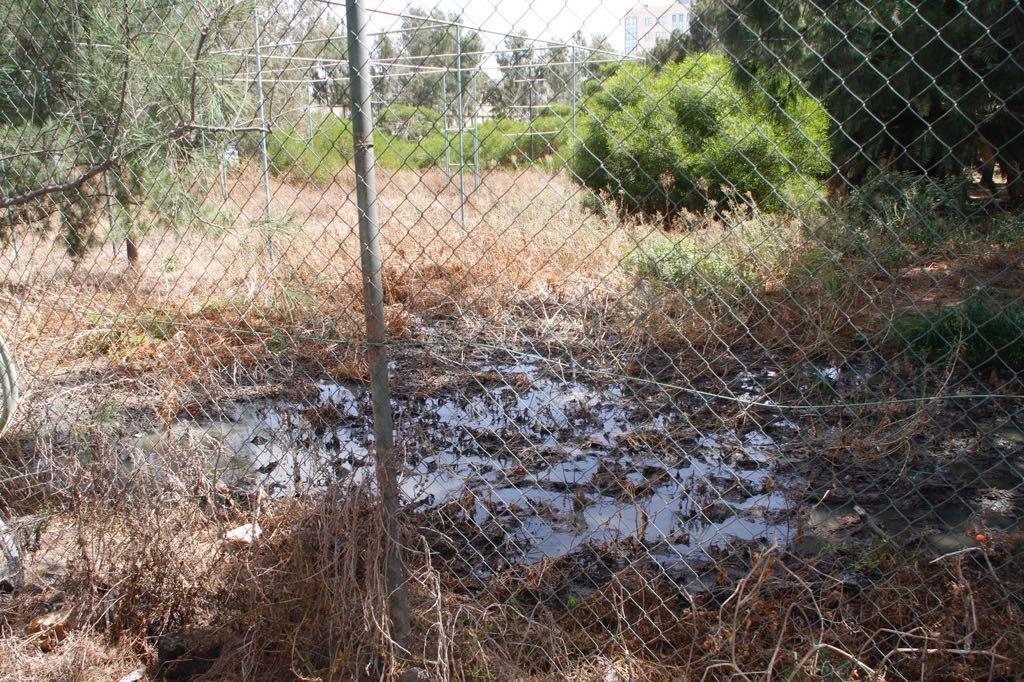 El Ayuntamiento de Arrecife denuncia un nuevo vertido de agua residual en la zona del intercambiador de guaguas