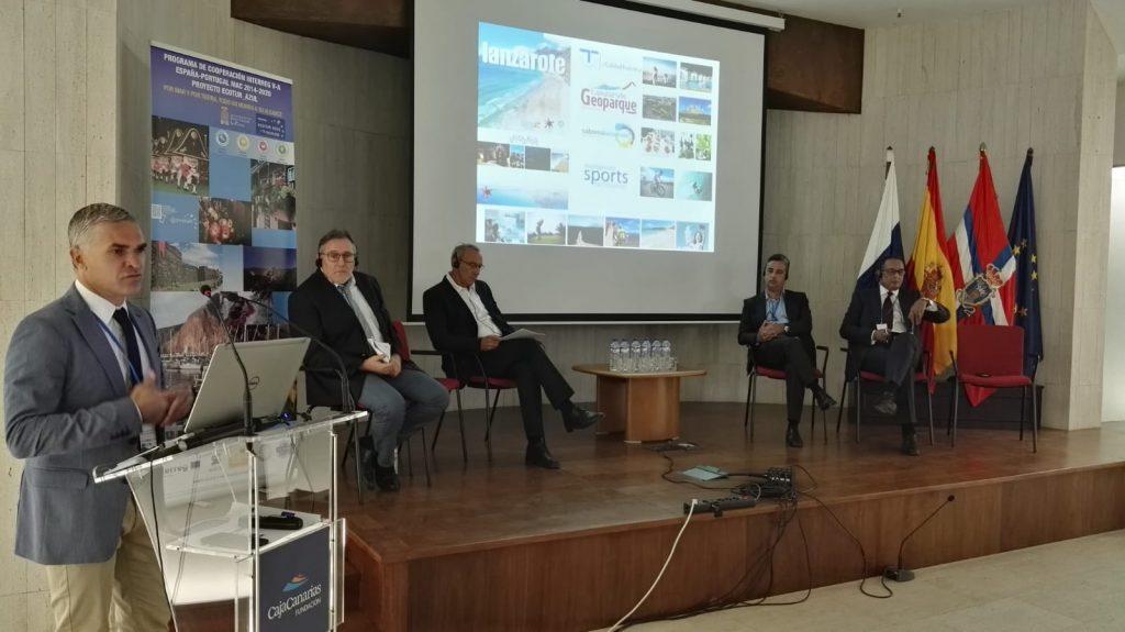 Turismo Lanzarote, presente en la Conferencia Transnacional Ecotur Azul celebrada en Santa Cruz de La Palma