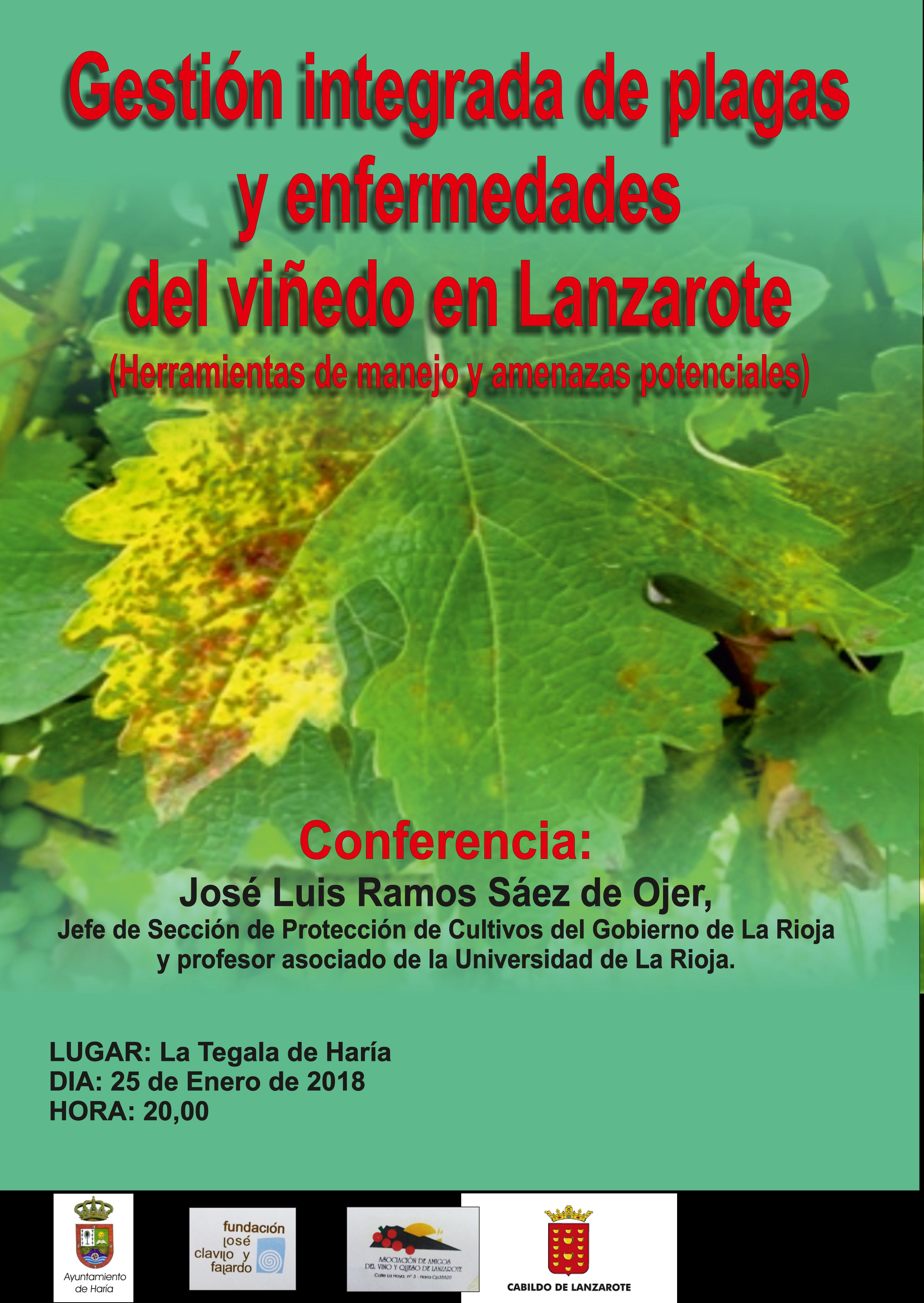 Conferencia de la gestión integrada de plagas y enfermedades del viñedo