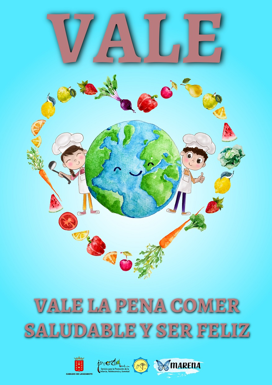 El Cabildo de Lanzarote impulsa un proyecto de alimentación y hábitos saludables en las escuelas rurales de la isla