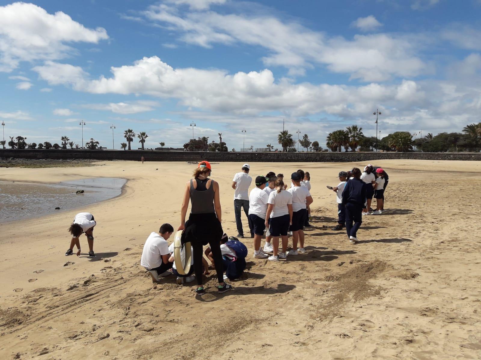 Los escolares de Arrecife continúan con el proyecto de concienciación sobre el uso del plástico