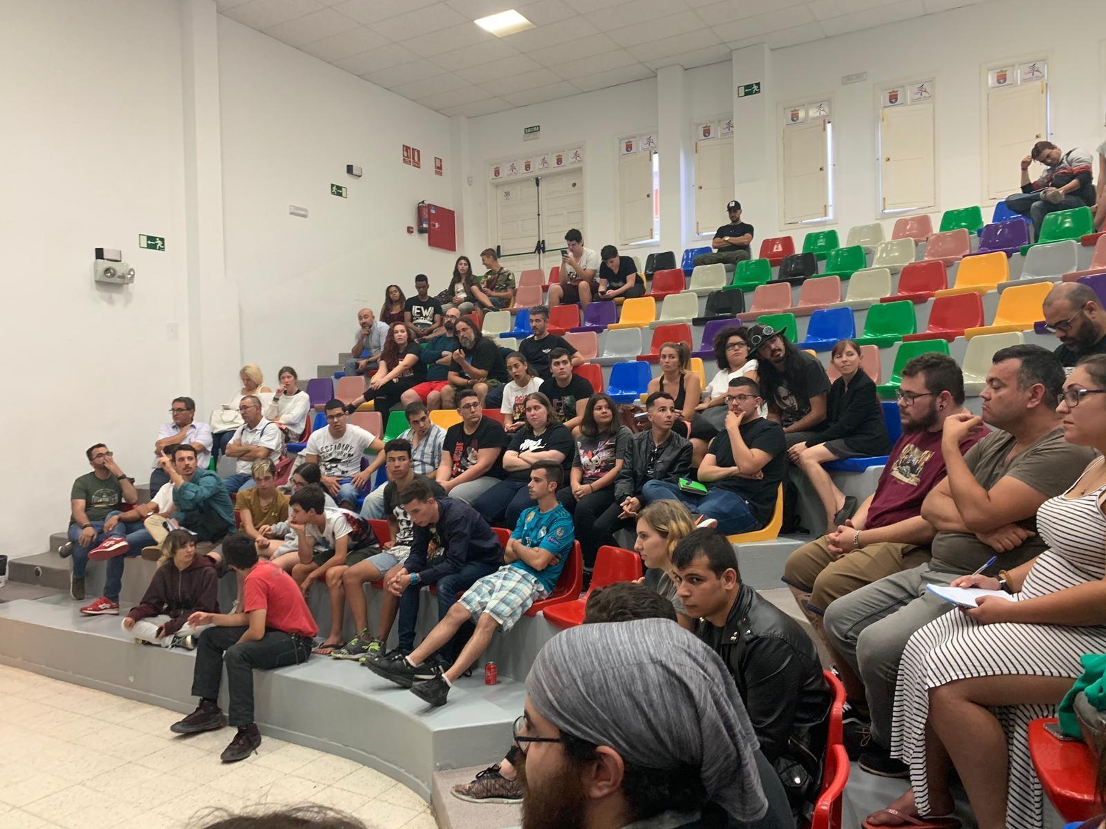 La concejal Elisabet Merino agradece el éxito de participación en el primer en encuentro de colectivos juveniles de Arrecife
