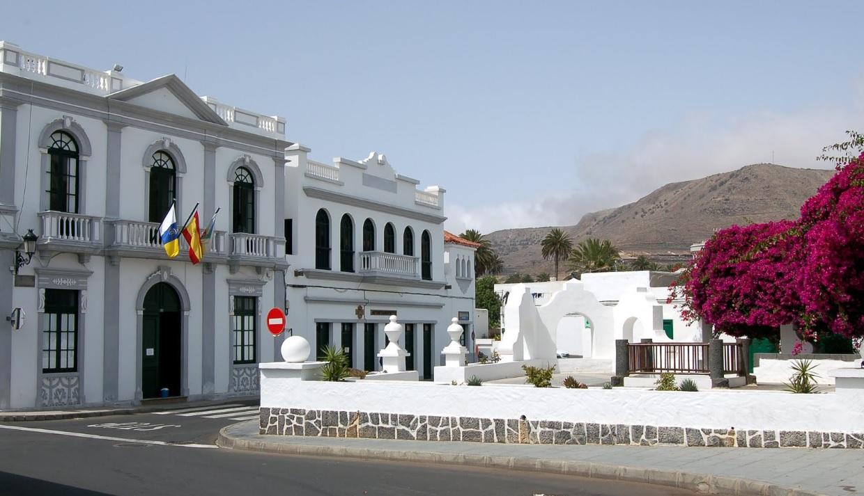 El Ayuntamiento de Haría se compromete a prestar apoyo y ayudar a la reconstrucción de La Palma