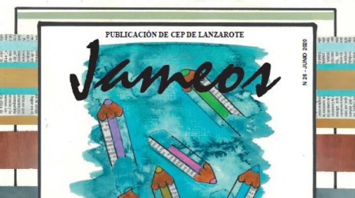 Presentación de la Revista Jameos Número 26 por parte del Centro del Profesorado de Lanzarote (CEP)