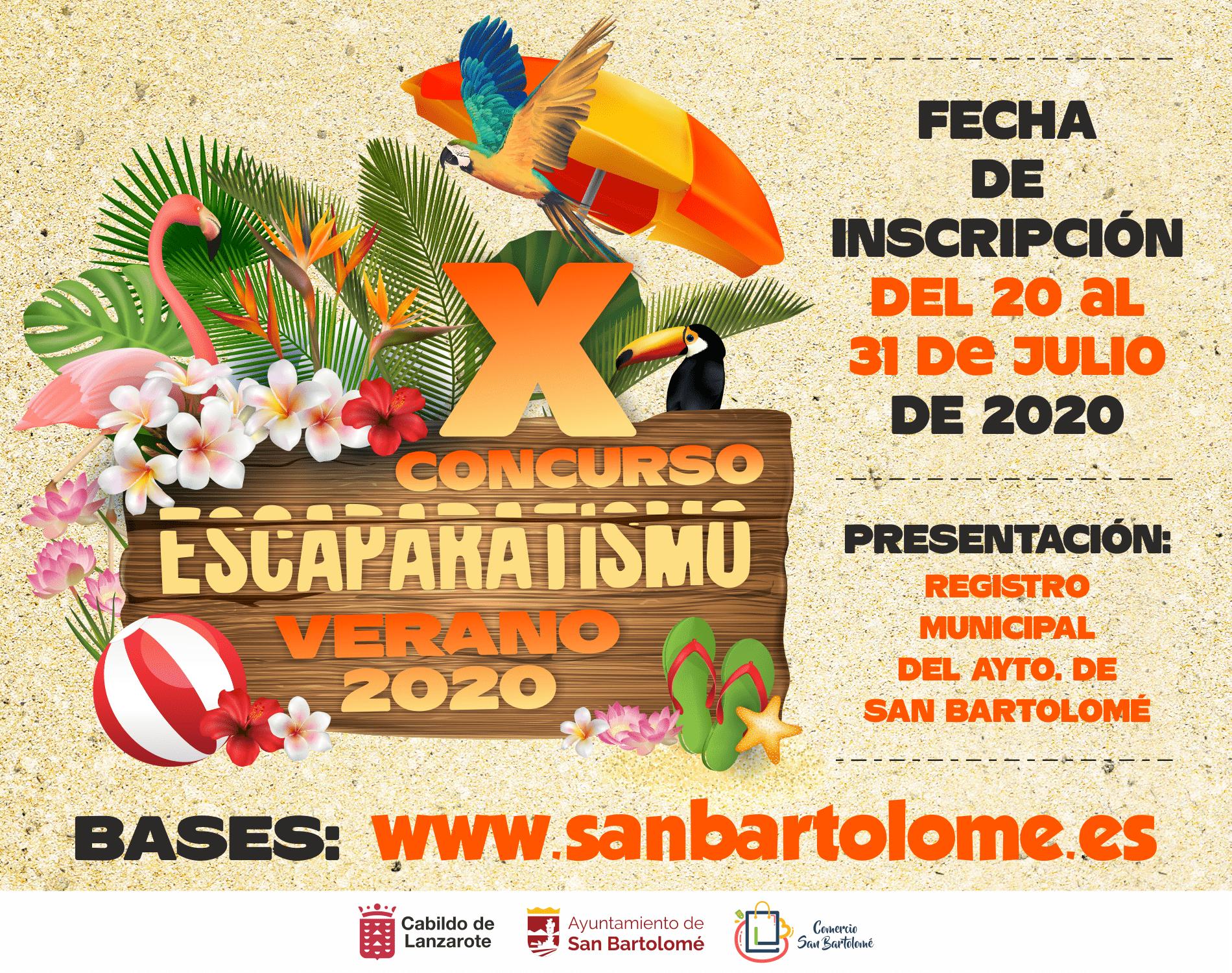 """"""" X Concurso de Escaparatismo"""" en el municipio de San Bartolomé"""