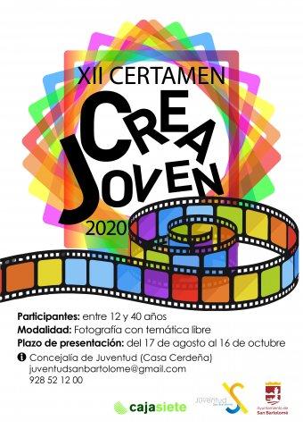 XII Certamen Crea Joven 2020 en San Bartolomé
