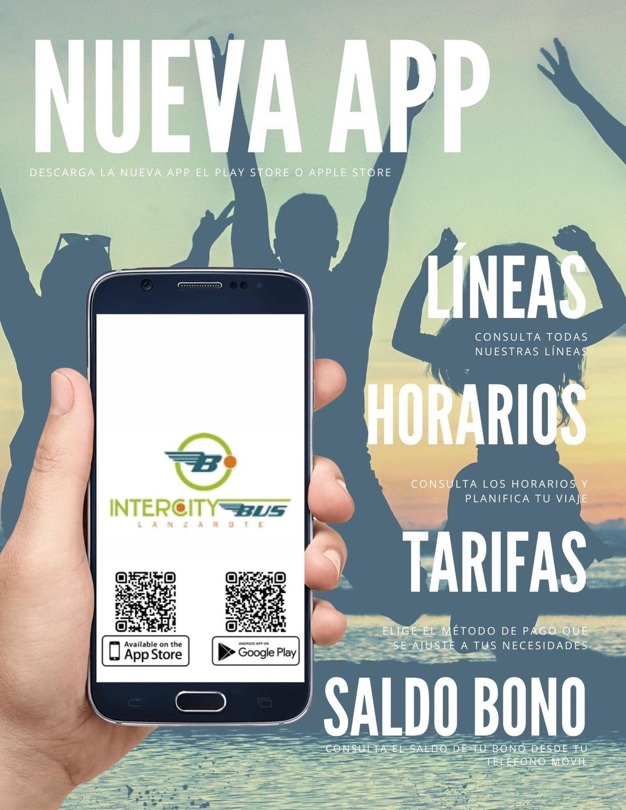 El Cabildo lanza una nueva aplicación móvil gratuita para el transporte público interurbano