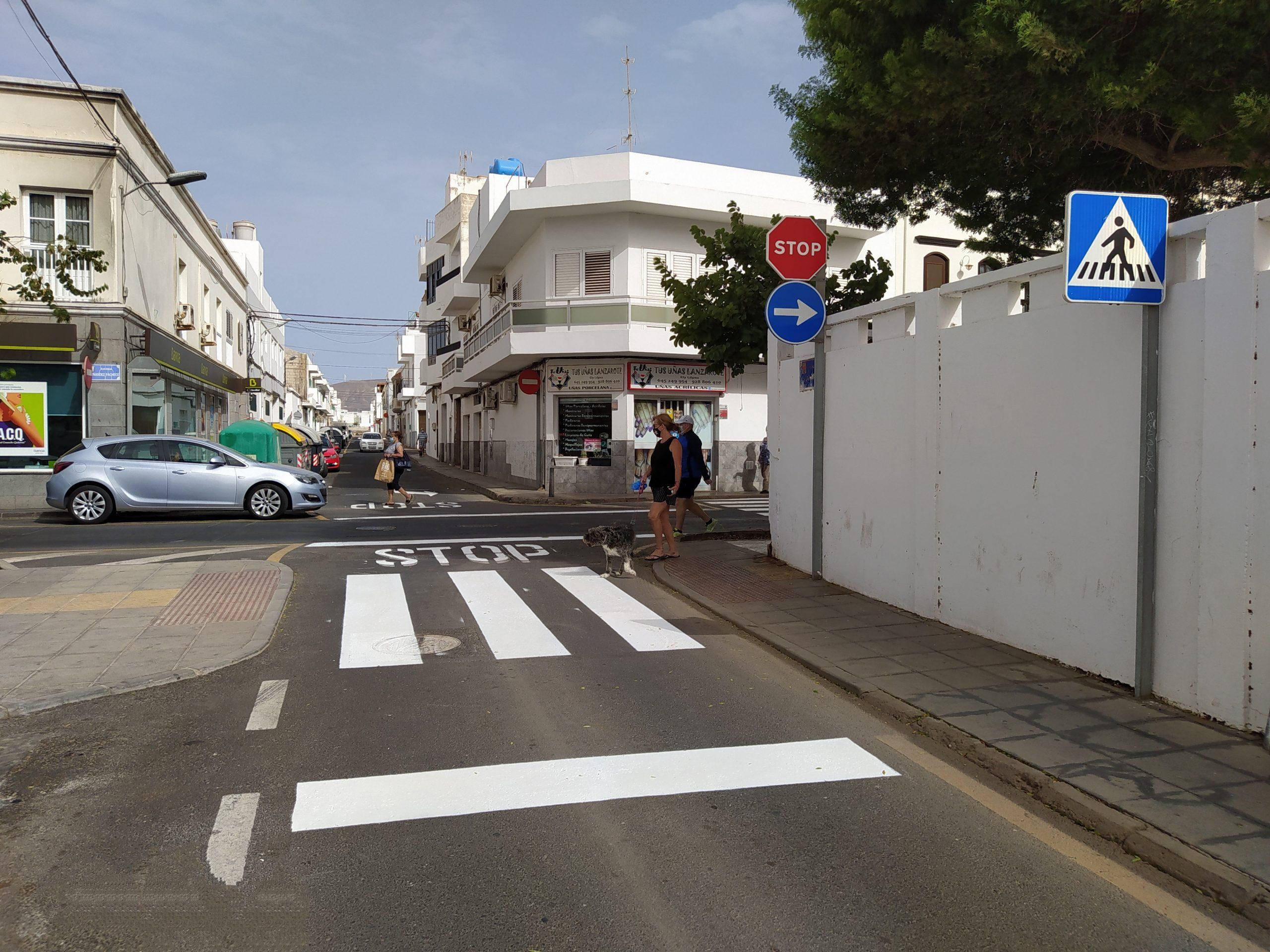 El Ayuntamiento refuerza la seguridad vial en el entorno de los colegios de Arrecife