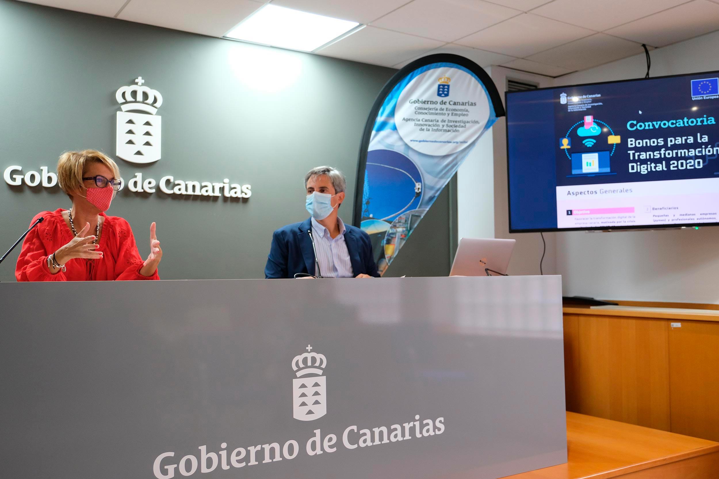 La ACIISI da respuesta a la COVID-19 impulsando la transformación digital del tejido productivo de Canarias