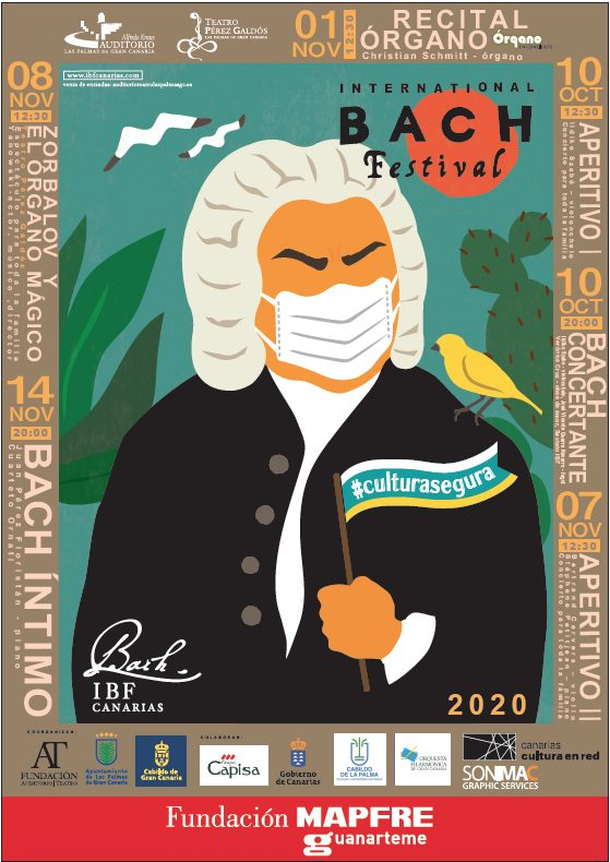 El International Bach Festival activa la venta de entradas para sus conciertos de la edición 2020