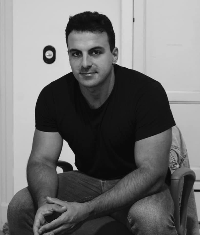 El nadador Edu Blasco se entrena en Tenerife