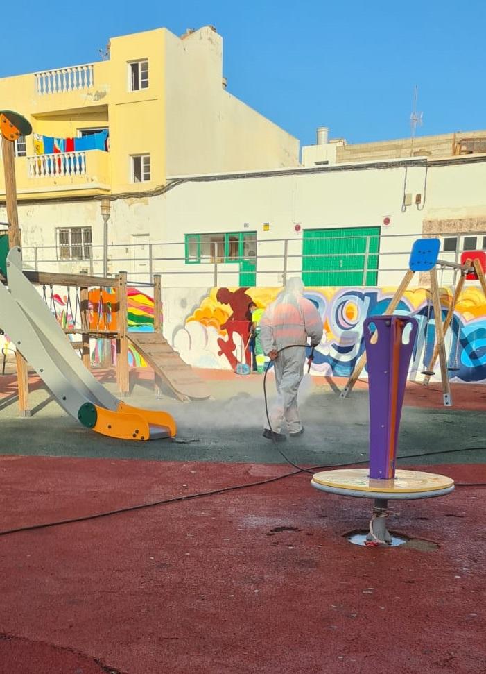 Parques y Jardines de Arrecife centrará su campaña medioambiental en los escolares del municipio
