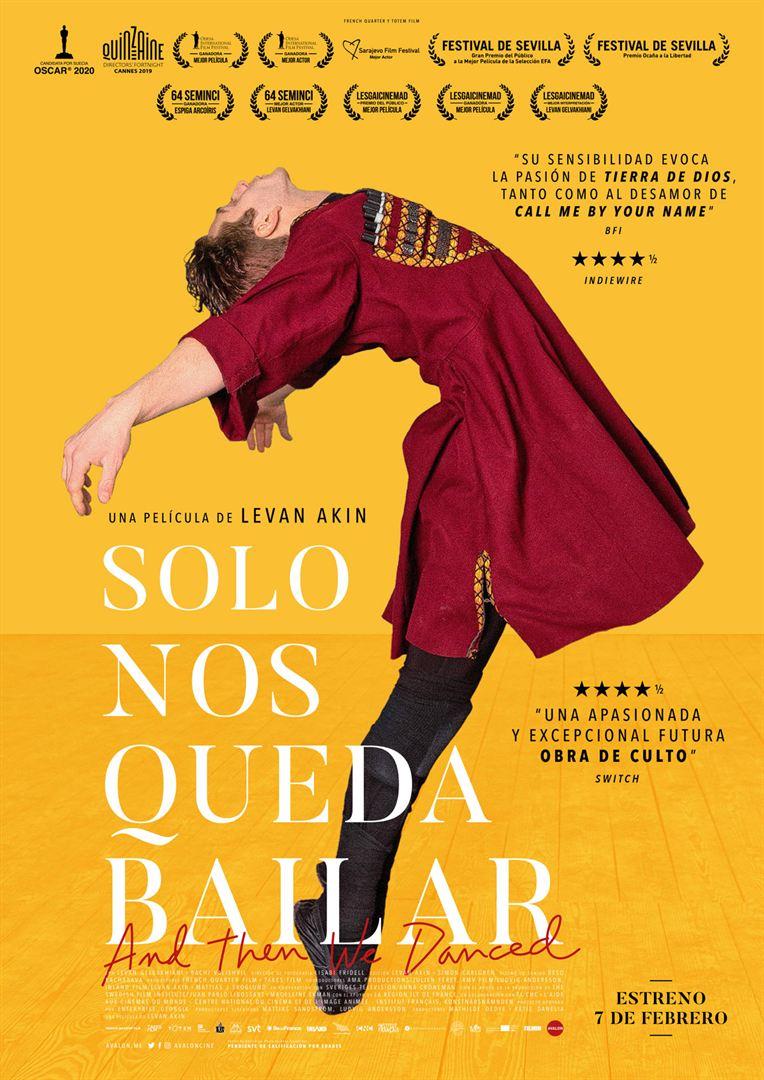 Cine: SOLO NOS QUEDA BAILAR Levan Akin (2019)