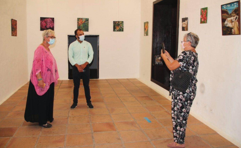 Exposición 'Los colores de Lanzarote', de Gabriele Derendorf