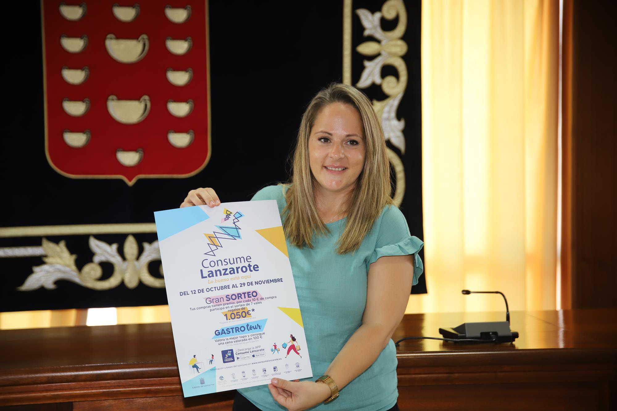 """Cabildo y ayuntamientos presentan la campaña """"Consume Lanzarote. Lo bueno está aquí"""""""