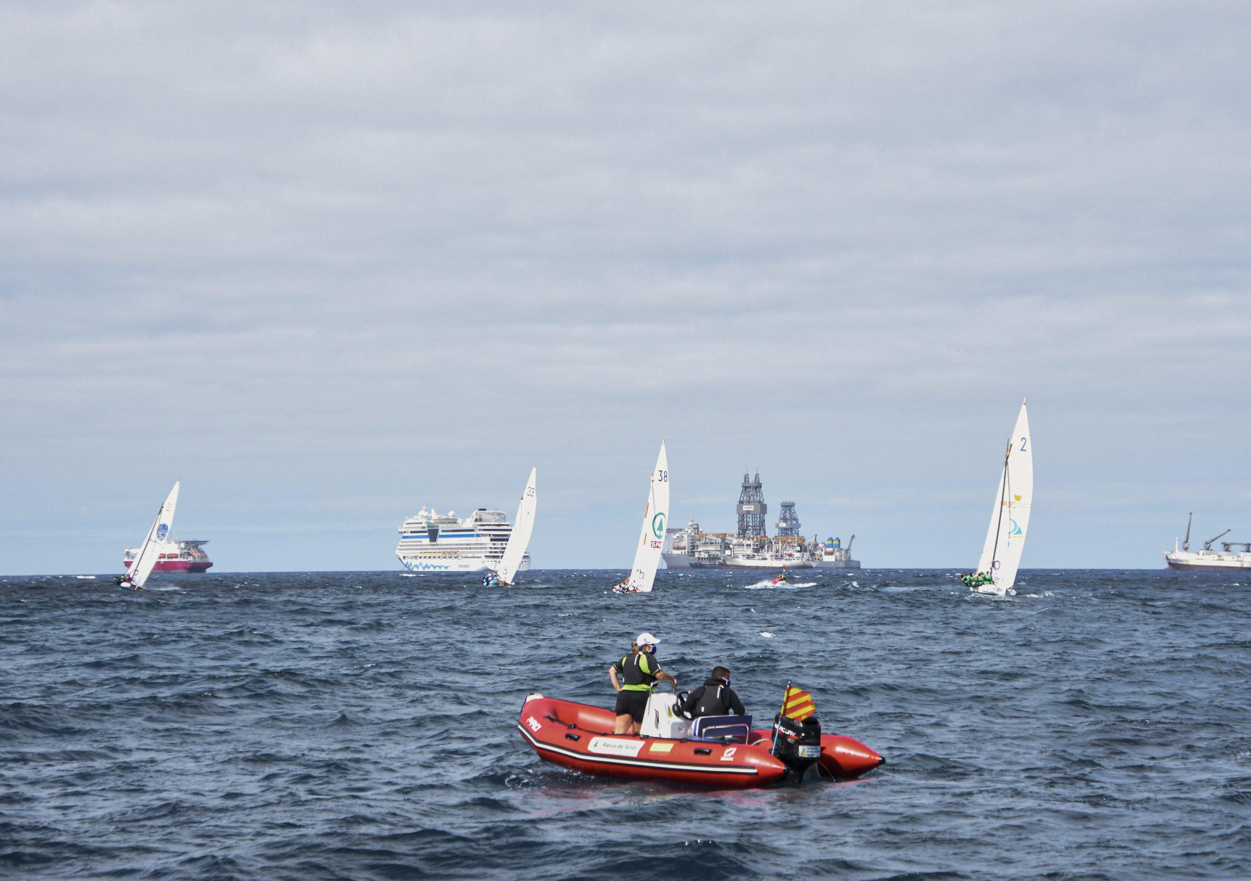 Aplazado el regreso de la Vela Latina Canaria previsto para este fin de semana