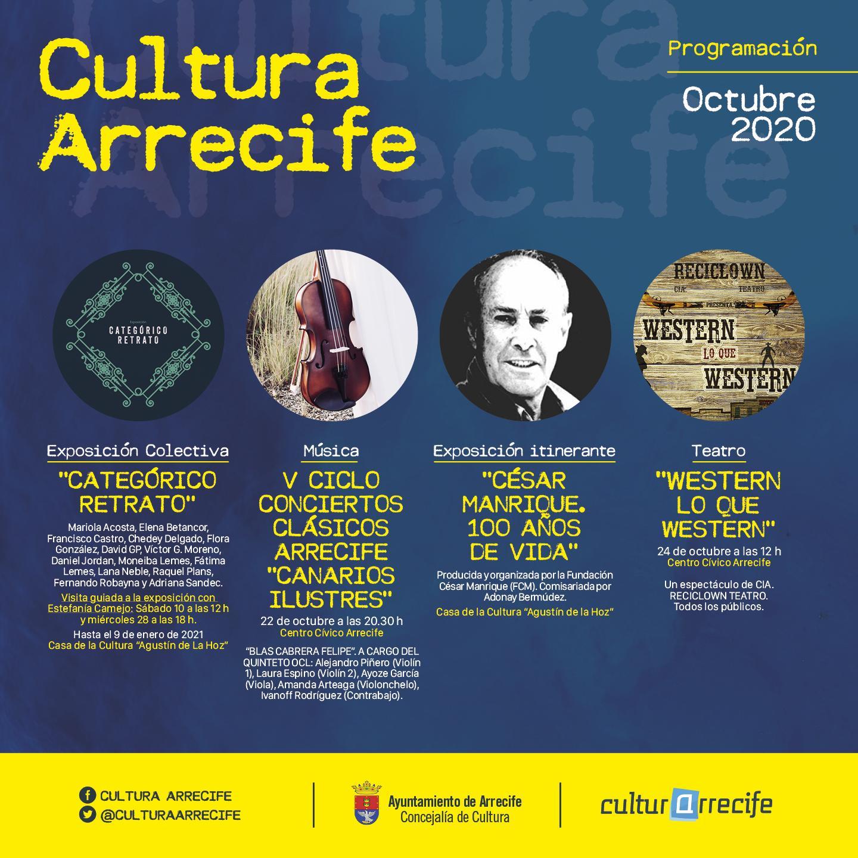 Arrecife apuesta por la Cultura #Segura