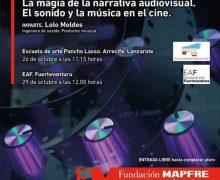 """Conferencia """"La magia de la narrativa audiovisual. El sonido y la música en el cine"""""""