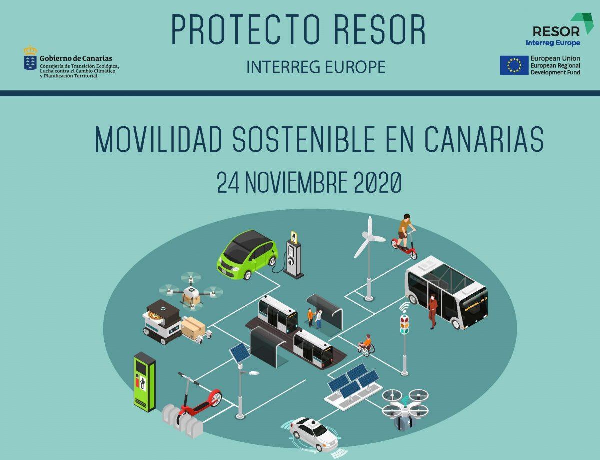 Transición Ecológica organiza unas jornadas virtuales sobre movilidad sostenible en Canarias
