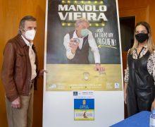 Manolo Vieira estrena en el Cuyás 'Aquí detrás hay alguien', tributo a la risa para despedir un año marcado por la covid