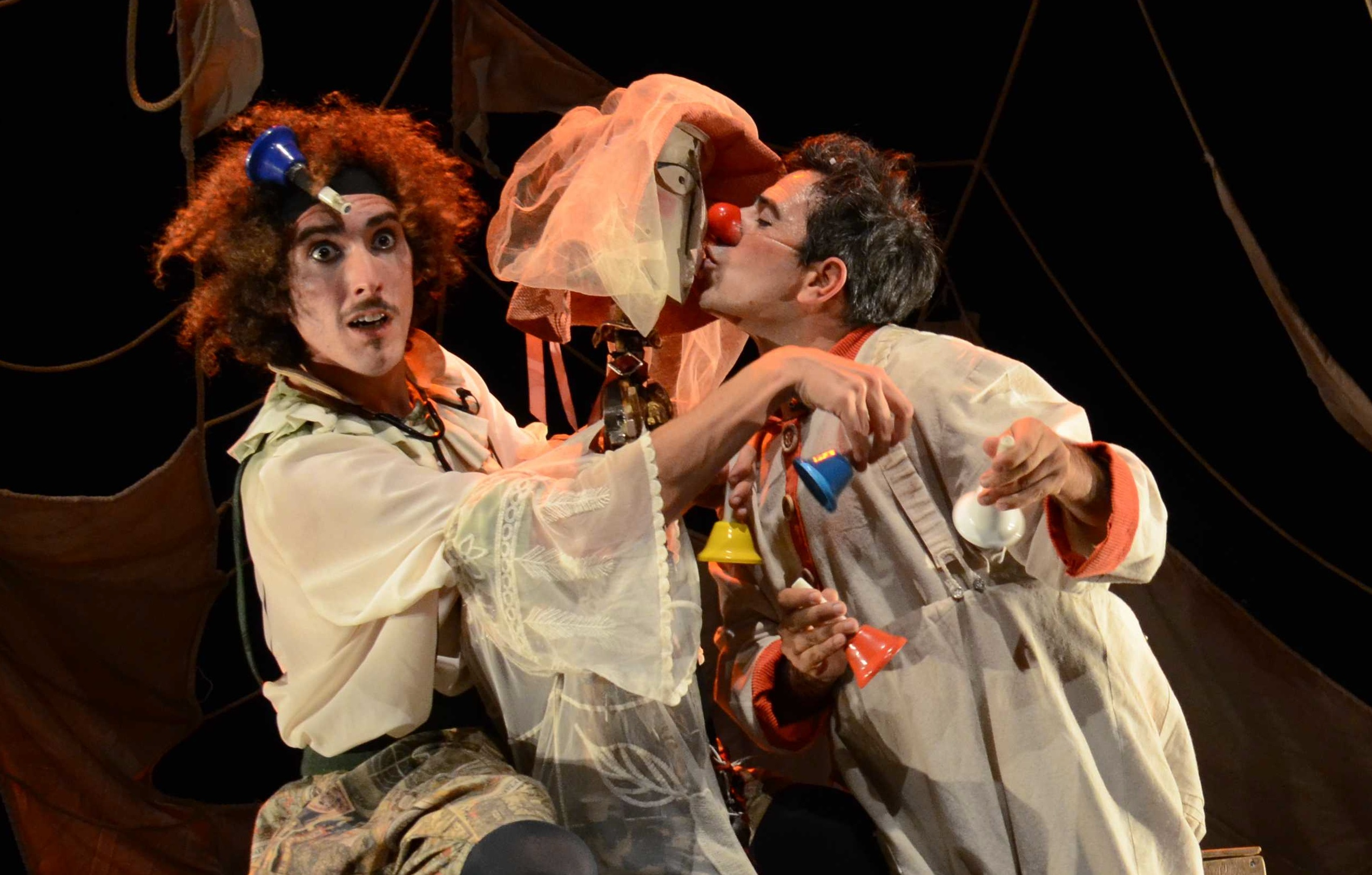 Clown, música, teatro y poesía para toda la familia con 'Aires', de la compañía Piero Partigianoni
