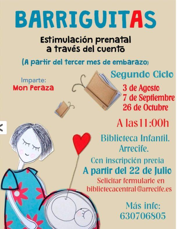 Barriguitas Online Estimulación prenatal a través del cuento.