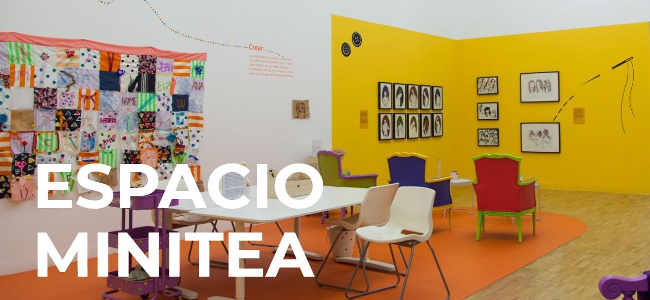El taller del MiniTEA, un lugar para la creatividad