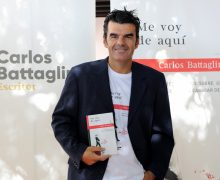 """Presentación de """"Me voy de Aquí"""" Libro de relatos de Carlos Battaglini"""