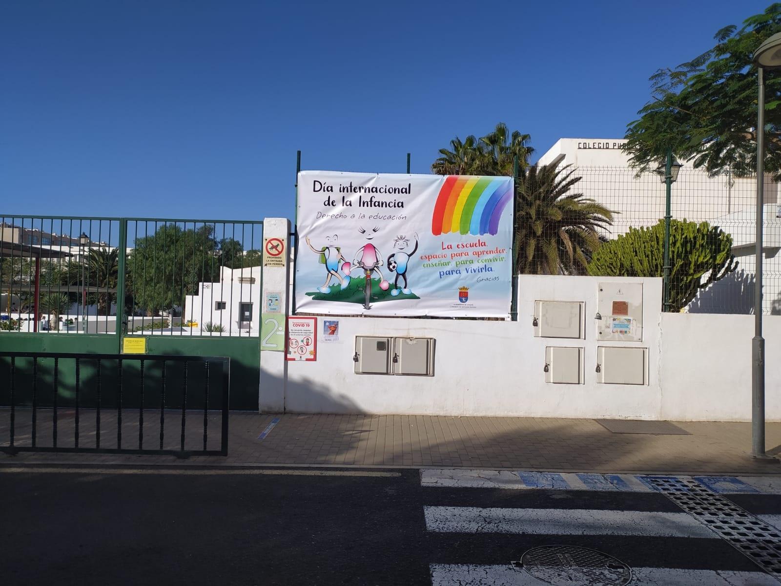 Arrecife resalta en todos los colegios el Día Internacional de la Infancia