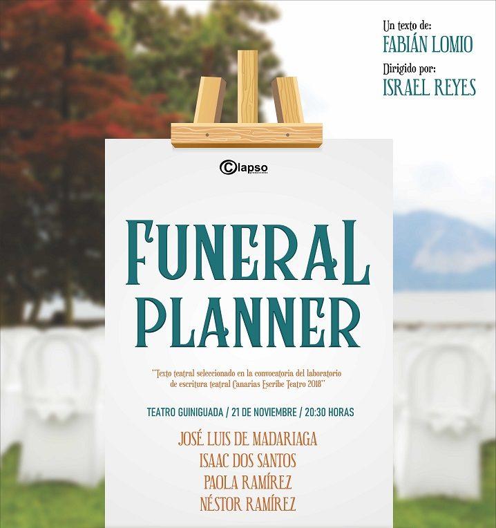 'Funeral Planner', de Fabián Lomio