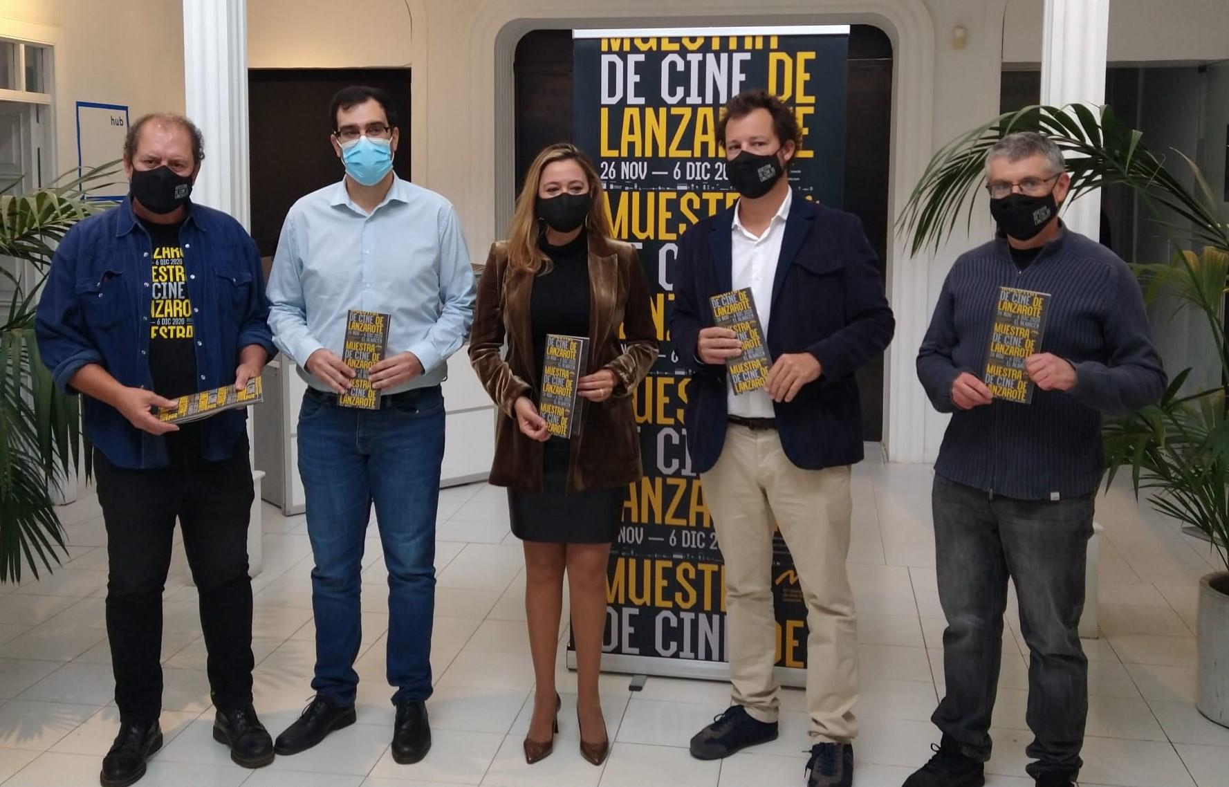 Respaldo de la Presidenta del Cabildo a la 10ª Muestra de Cine de Lanzarote